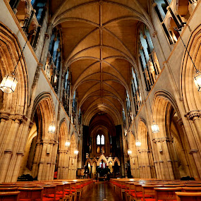 by Michael Rey - Buildings & Architecture Places of Worship ( interior design, religion, ireland, dublin, architecture, historic )
