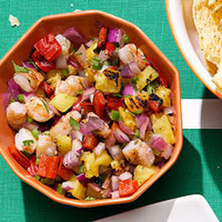 Tropical Shrimp Salsa