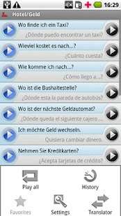 iSayHello German - Spanish- screenshot thumbnail