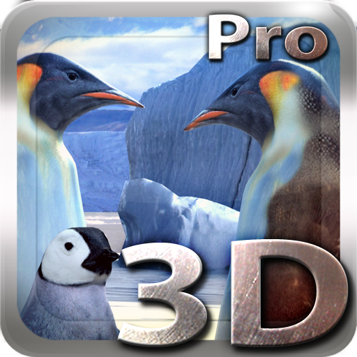 Penguins 3D Pro Live Wallpaper app for Android