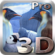 Penguins 3D Pro Live Wallpaper