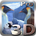 Penguins 3D Pro Live Wallpaper icon