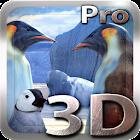 Penguins 3D Pro Live Wallpaper icon