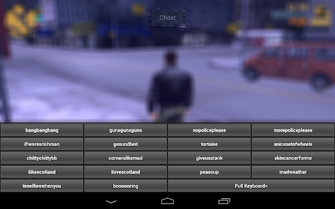 DOWNLOAD Cheater For GTA III (GTA 3) ANDROID MOD APK 4