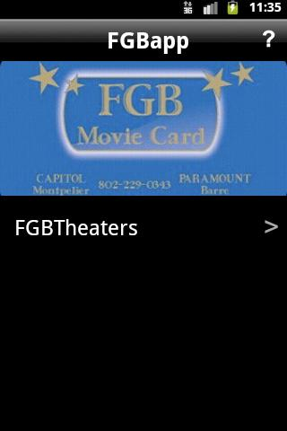 FGBTheaters - screenshot