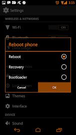 Tangerine CM11 AOKP Theme Screenshot 10