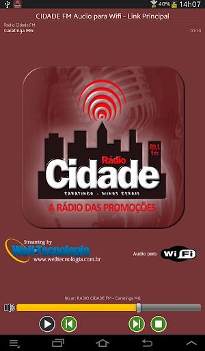RADIO CIDADE FM - CARATINGA MG