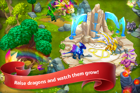 Dragons World- screenshot