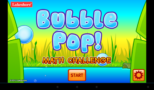 Bubble Pop Math Challenge 1-2- screenshot thumbnail