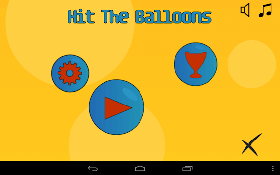 Hit The Balloons apk screenshot