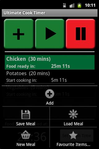 Ultimate Cook Timer- screenshot
