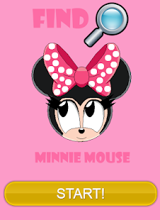 Minnie Mouse Hidden Objects