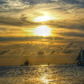 by Toni Haas - Landscapes Waterscapes ( #sailboat #waterscape )