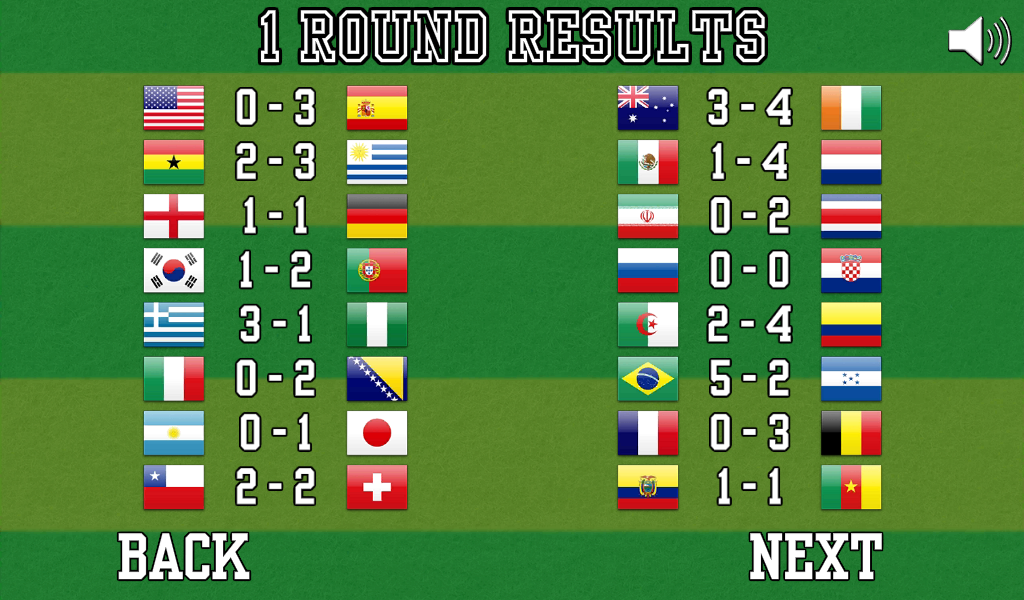 World Foosball Cup- screenshot