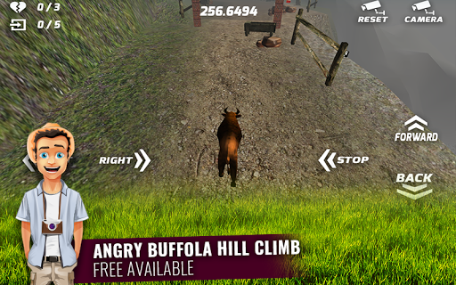 Angry Buffalo 3D Simulation
