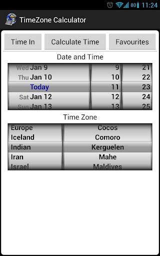 TimeZone Calculator - Free