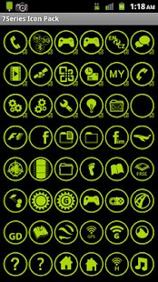 Icon Pack - 7 Green Any Cut - screenshot thumbnail