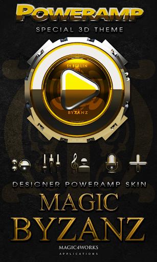 Poweramp skin Byzanz