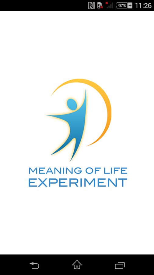 The Meaning Of Life Experiment- screenshot