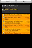 Screenshot of Ghaint Punjabi Music