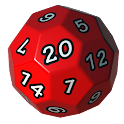 RPG dice icon