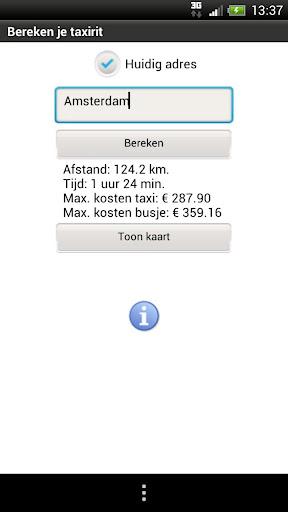 Taxi Prijs NL 1.1 screenshots 1