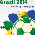 Brazil 2014 World Cup Guide icon
