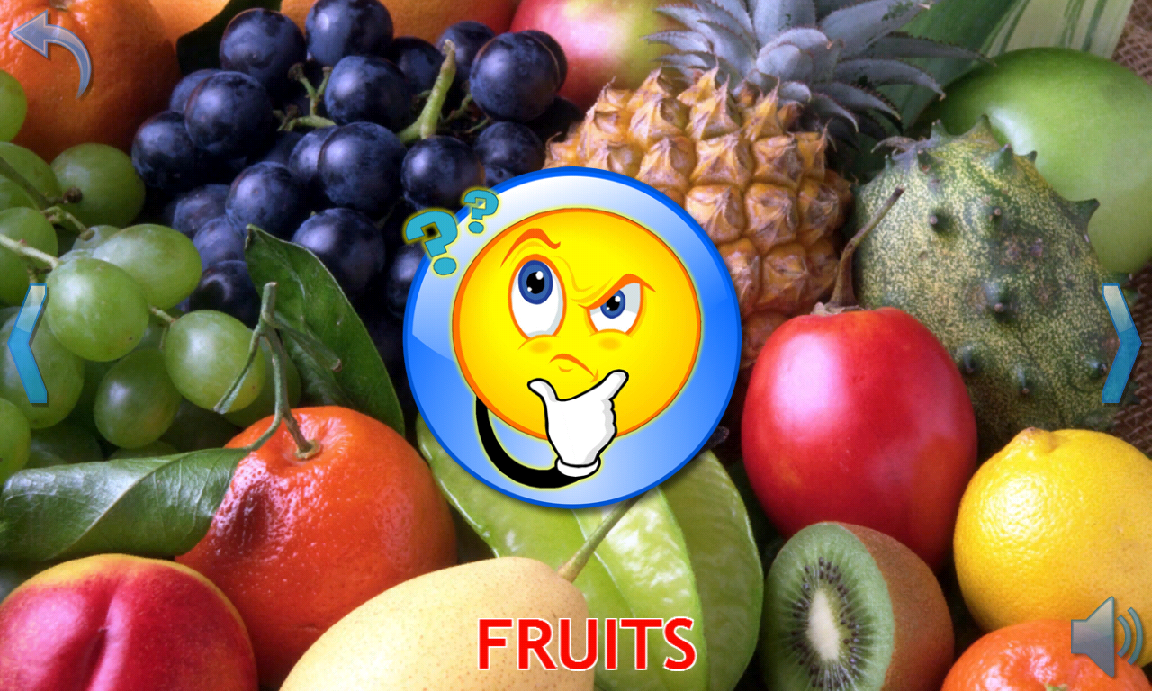 fruits and vegetables for kids android apps on google play