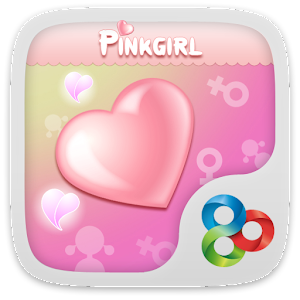 Pink girl GO Launcher Theme v1 1 Apk, Free Personalization