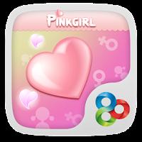Pinkgirl GO Launcher Theme v1.1