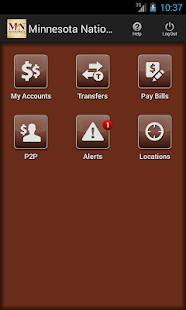 Minnesota National Bank Mobile - screenshot thumbnail