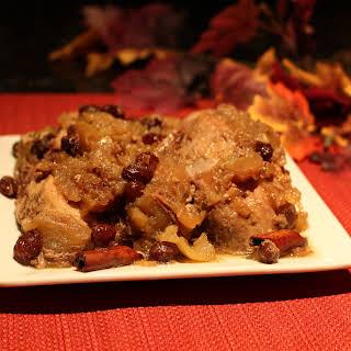 Crock Pot Apple Spiced Pork Roast.