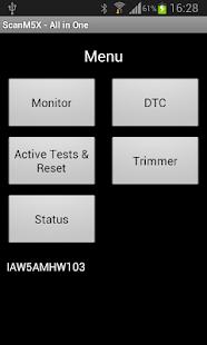ScanM5X Data Logger - náhled
