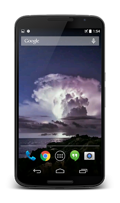 Storm Video Live Wallpaper 3D - screenshot