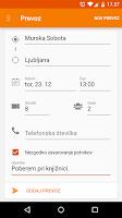 Screenshot of Prevoz.org