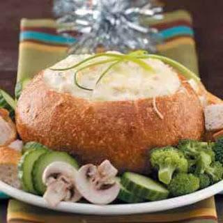 Bread Bowl Seafood Dip