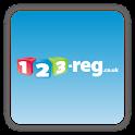 123-reg Domains App logo