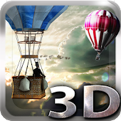 Hot Air Balloon 3d Wallpaper