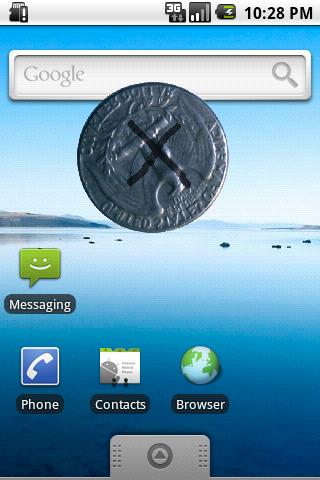 Coin in Phone Magic (CiP)- screenshot
