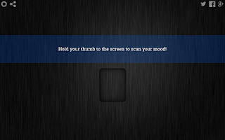 Screenshot of Mood Scanner Prank