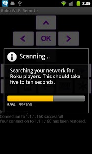Rfi - remote for Roku players - screenshot thumbnail