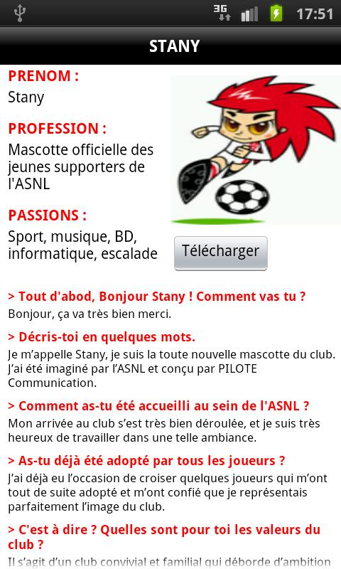 ASNL Officiel- screenshot