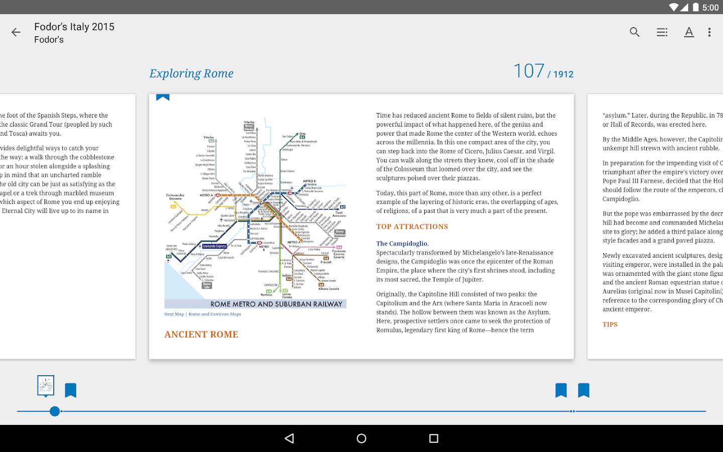 Google Play Books – Screenshot