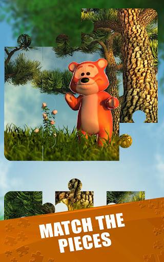 玩解謎App|泰迪熊 拼图游戏免費|APP試玩