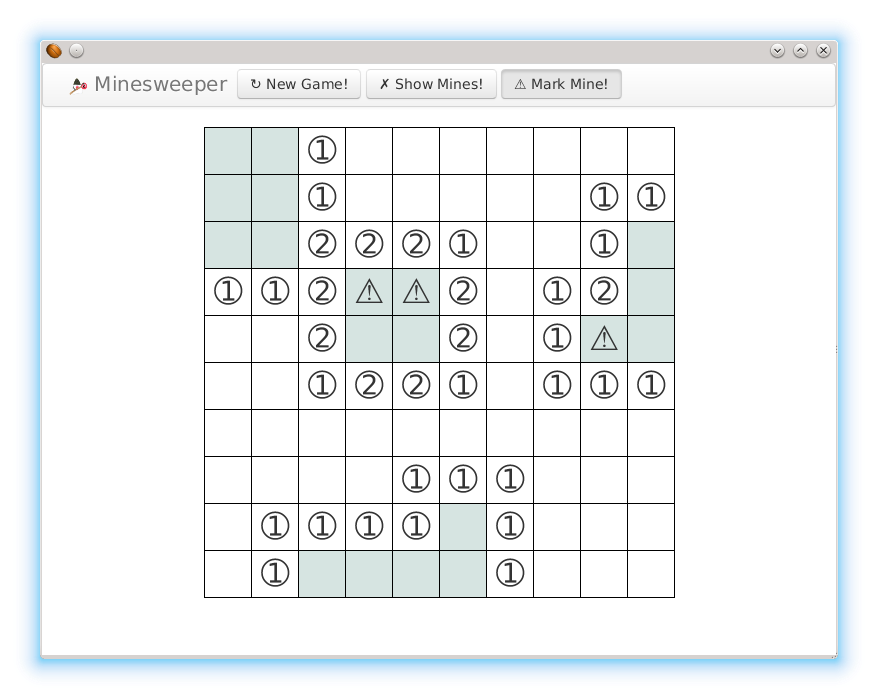 Fair Minesweeper- screenshot