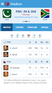 Live Cricket Scores & News - screenshot thumbnail