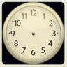 Instagram Style Clock Widget icon
