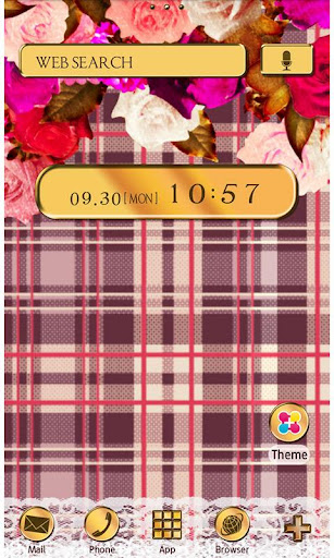 Chic Wallpaper British Rose 1.2 Windows u7528 1