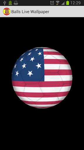 3D Ball USA LWP