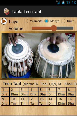 Tabla Teentaal - screenshot